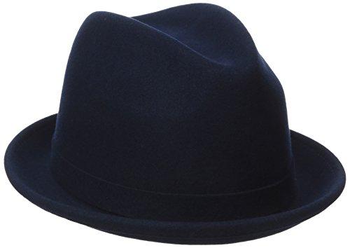 Kangol Unisex Trilby LiteFelt® Player, Gr. Small, blau (Wool Kangol Player)