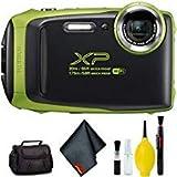 FUJIFILM FinePix XP130 Digital Camera (Lime) Standard Bundle