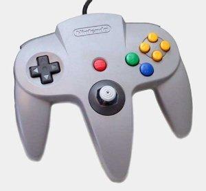 official-n64-nintendo-64-grey-controller-control-original
