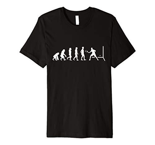 Squash Shirt - Squashspieler Evolution Geschenk T-Shirt
