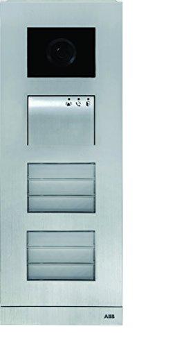 Niessen welcome - Placa calle 8 módulos -m tamaño 2/4 aluminio