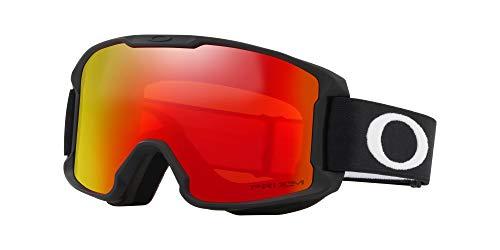 Oakley Line Bergmann Youth Snow Goggle, matt schwarz, klein, Prizm Torch Iridium Lens