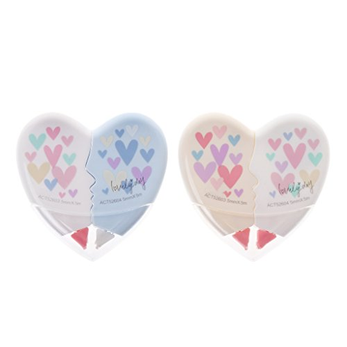 Manyo Cintas Correctoras - Papeleria Creativa, 1pc Love Heart Correction Tape Kawaii Student Stationery Office Útiles Escolares 10M