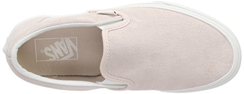 Vans Classic Slip-On, Baskets Basses Mixte Adulte Rose (Croc Emboss/Iced Pink/Blanc de Blanc)