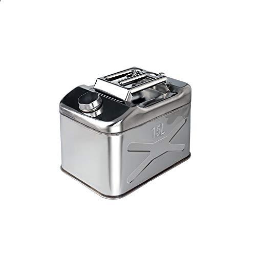 JU FU Serbatoio del carburante portatile Serbatoio del carburante portatile, multifunzionale in acciaio inox 304 resistente tamburo di riserva olio tamburo di riserva speciale, può essere dotato di o