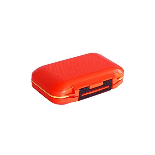 Pequeñas Portable Impermeable señuelos de Pesca Cajas de Pesca Accesorios Contenedores de Almacenamiento