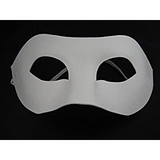 ASCRAFTS HONGBE 6 Half Face Mask, Paint Mask Decorate Plain Masks White Mask