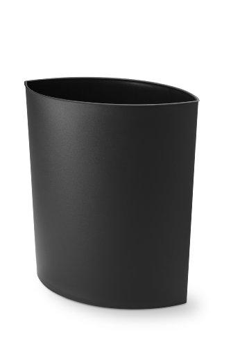 Authentics 1090799 corbeille à papier Noir
