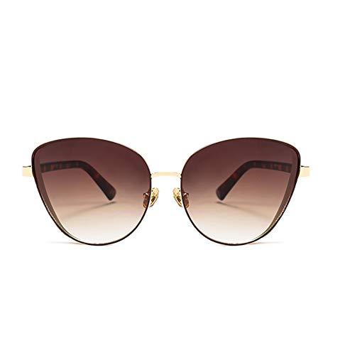 SUNNYJ Sonnenbrille Cat Eye Frauen Sonnenbrille Bling Breiten Rahmen Rote Sonnenbrille Mode Brillen 66 C6