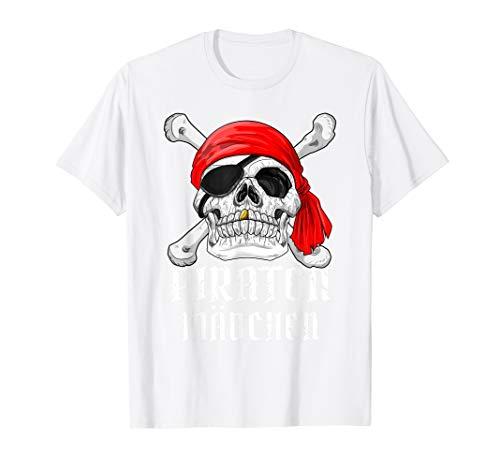 (Piraten Mädchen Kostüm Fastnacht Fasching T-Shirt Geschenk)