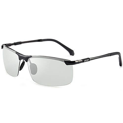 TYCI Mann Sonnenbrille Smart Color Change Semirandless Outdoor-Reiten Sport Fahren polarisierte Schutz Radfahren Skifischen Golf Brille-3