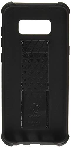 i-Blason Galaxy S8+ Plus Hülle Prime Serie - 2-Schicht Schutzhülle/Tasche / Gehäuse/Zubehör mit Standhalter, schwenkbaren Gürtelschnalle mit Locking-Mechanismus (2017 Release) (Schwarz)