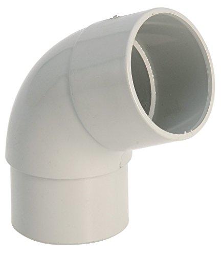 Coude 67°30 M/F gris - diamètre 80 mm - Girpi