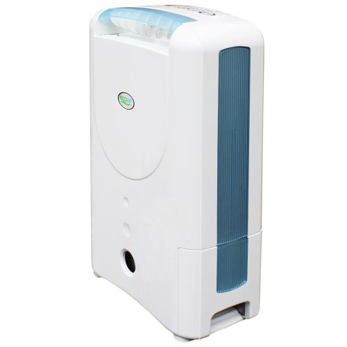 316Nqz%2BX6nL. SS500  - EcoAir DD1 CLASSIC MK5 Desiccant Dehumidifier with Ioniser and Silver Filter, 7 L - Blue