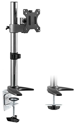 RICOO Universal Monitor Halterung TS2411 Schwenkbar Neigbar Bildschirm Monitorhalterung Modular Tischhalterung LCD LED Curved Bildschirmhalterung VESA 75x75 100x100 33-76cm 13