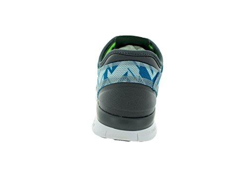 Nike - Free 5.0 Tr Fit 4, Sneaker Donna Grigio chiaro/Flsh Lm/Bl Lgn/Clrwtr
