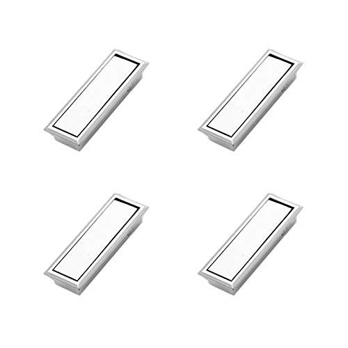 3 Stück Kommode (Gysad Möbelgriffe, quadratisch, Vintage-Stil, für Küche, Tür, Schlafzimmer, Kommode, Schublade, Badezimmer, 4 Stück A-3 48.4x23x11.5m)