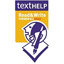 READ & WRITE VERSION 8.1 GOLD DYSLEXIA SOFTWARE