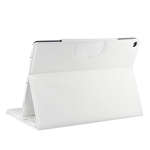 Preisvergleich Produktbild Kaiki 1pc Leder Flip Wireless Bluetooth Tastatur Fall Deckung für ipad Pro 12, 9 Zoll