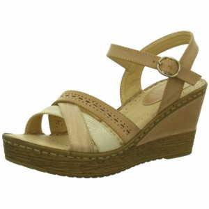 Quick-Schuh  1000349/5, Sandales pour femme - 5Rosa/Creme