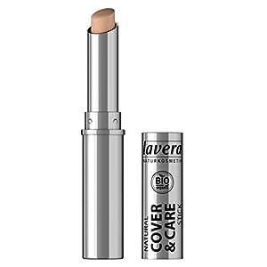 lavera Cover & Care Stick -Honey 03- Corrector y anti imperfecciones ∙ Natural tono de piel ∙ Vegan Cosmética Natural Bio Maquillaje Organico 100% Certificado (1.7 gr)