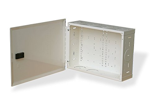 benner-nawman 14104-mmh Strukturierte Verkabelung Schränke, 14-1/4-Zoll x 25,4x 4-Zoll, weiß (Strukturierte Verkabelung-schrank)