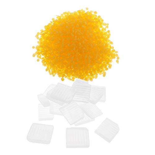 IPOTCH 1000g Wachs Weiße Pellets Pastillen Bienenwachs Bastel Kezenwachs Seife Kosmetik -