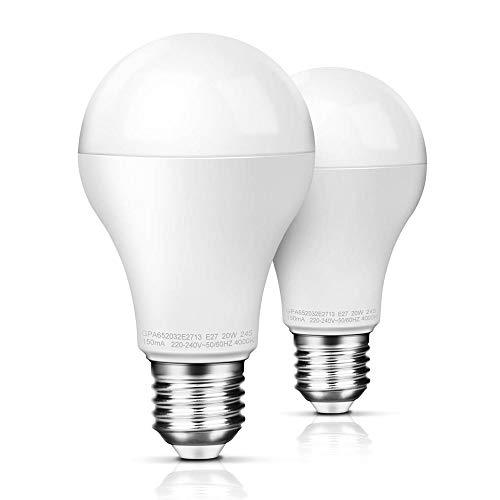 Awenia Bombilla LED Esférica E27 20W Equivalente