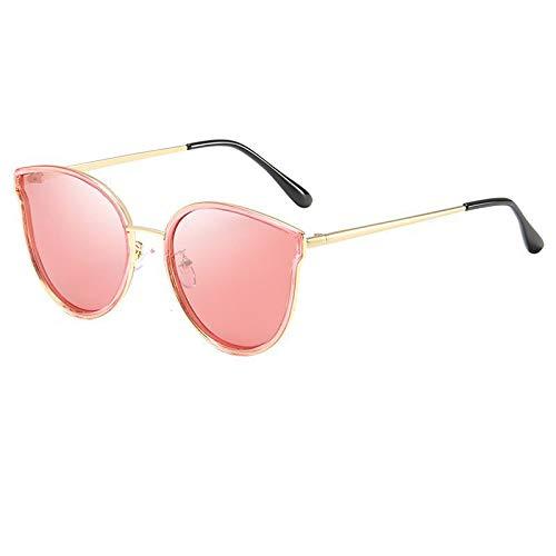 xinrongqu Sonnenbrillen - Metall Sonnenbrillen Driving Polarized Sonnenbrillen Damen Sonnenbrillen Red Frame Red C71