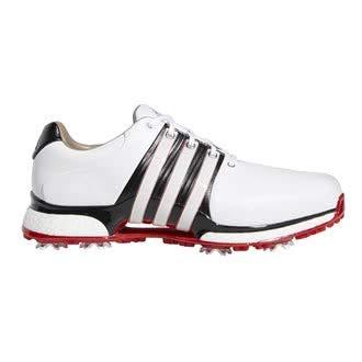 adidas Tour 360 Xt, Scarpe da Golf Uomo, Bianco (Blanco/Negro/Rojo Bb7922), 42 2/3 EU