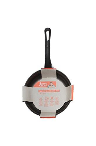 Jamie Oliver poêle à frire 24 cm/convient pour tous les types de plaques de cuisson/ Fait d'aluminium avec le revêtement anti-adhésif ILAG ultime/coffre-fort pour lave-vaisselle