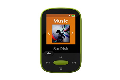 SanDisk Clip Sport 8GB MP3-Player Lime