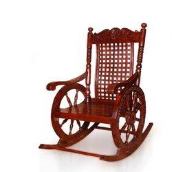 Tayyaba Enterprises Wooden Rocking Chair