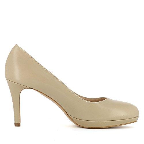 Evita Shoes Bianca, Scarpe col tacco donna Beige