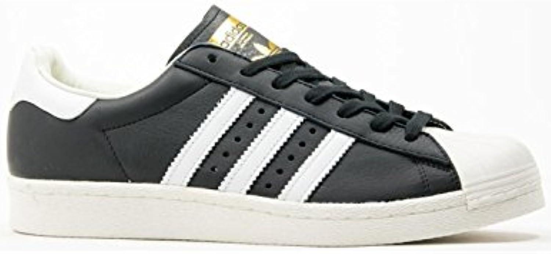 Adidas Herren Superstar Boost Sneaker Schwarz  37 1/3