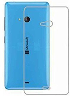 Exclusive Soft Silicone TPU Jelly Transparent Crystal Clear Case Soft Back Case Cover For Microsoft Lumia 540 (Dual Sim)  available at amazon for Rs.120