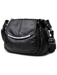 SLB Works IMIDO 2018 Luxury Design Women Genuine Leather Bag Soft Sheepskin Messenger  Bags Female Shoulder Bag Crossbody… d5cfd5efb1