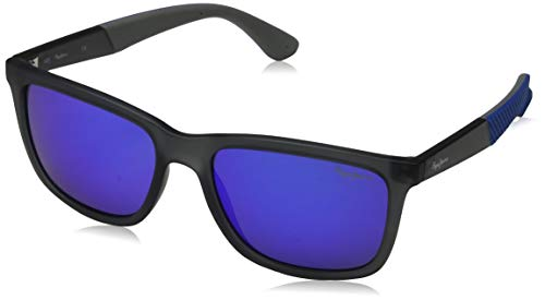 Pepe Jeans Unisex-Erwachsene Titan Sonnenbrille, Grau Grey, 54.0