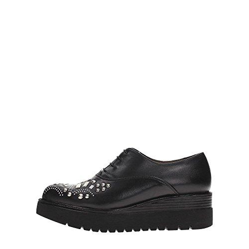 Tosca Blu Shoes SF1614S263 Francesina Donna Ecopelle NERO NERO 37