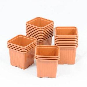 Godet pour semis 8 x 8 x 7 cm TERRE CUITE (x 50) (matière plastique)