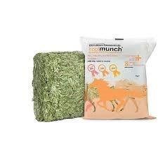 Equilibrium Hoofmunch Snack Integratore per Cavalli e Pony, Poche Calorie, Pochi Zuccheri, Alti in Fibre che Forniscono un Supporto alla Salute degli Zoccoli - Arricchiti in Biotina e Zinco - 5 Blocchi da 1kg