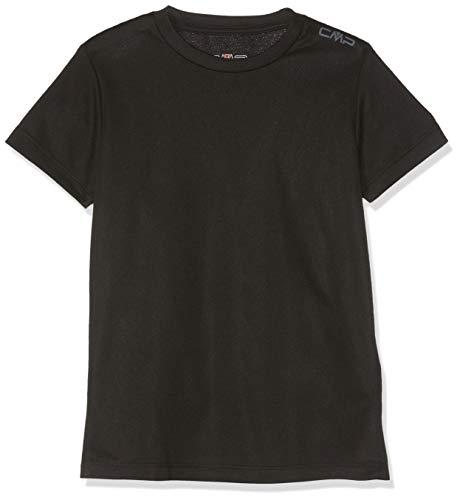 CMP Jungen T-Shirt, Nero, 128