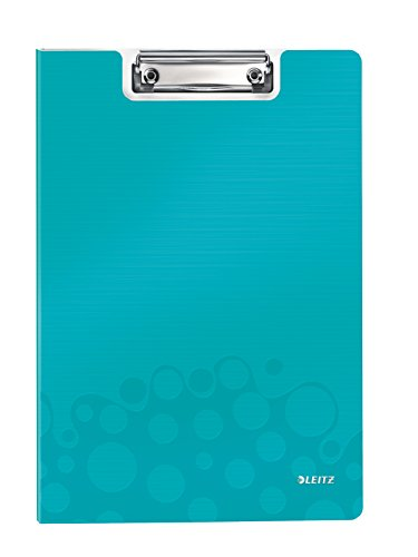Get Leitz A4 Clipfolder with Cover, Lightweight Polyfoam, WOW Range, Assorted Colours, Pack of 10 Reviews