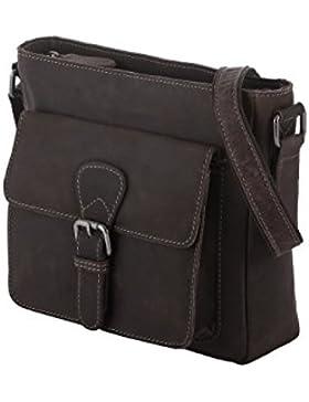 Rada Nature Umhängetasche 'Gosford' echt Leder Handtasche in verschiedenen Farben