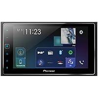 Pioneer 1025548 SPH-DA130DAB 2DIN Autoradio Kapazitives Touchpanel, Bluetooth; DAB+ Digitalradio, 15,74 cm (6,2 Zoll) Schwarz
