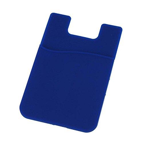 Queenbox Kartenaufkleber für Telefon Klebstoff Brieftasche Zurück Beutel Kartenhalter Klebrige Tasche Ausweis Kreditkarteninhaber (Kartenhalter Telefon Klebstoff)