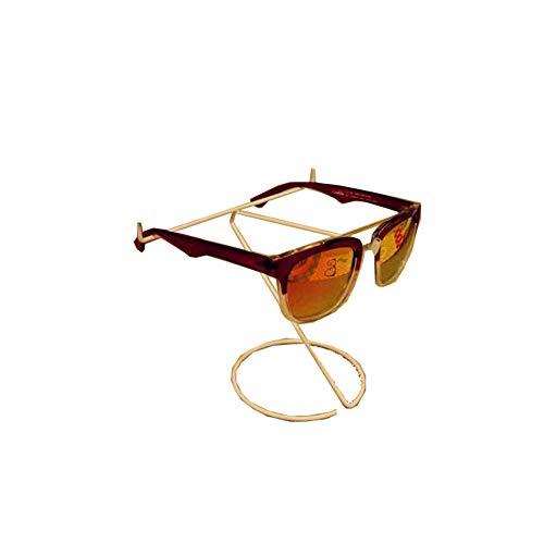 Glasses frame Metall Schwarz-Weiß-Brillenständer vertikale Single Wire, Sonnenbrille Halterung(A2;)