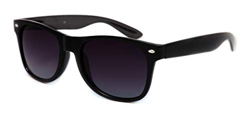 THEWHOOP Wayfarer Unisex Sunglass(Black|56|2029)