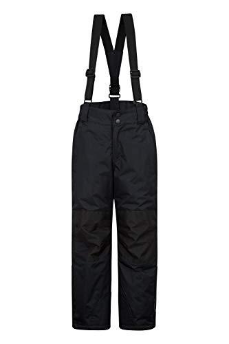 Mountain Warehouse Pantalon de Ski Raptor Enfants - Deux Poches, Résistant à la Neige, Bretelles...