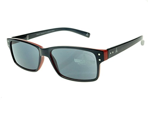 Atlantic Eyewear AE0051 Lesebrille Lesen Sonnenbrille Manner und Frauen mit etui (+1.50)